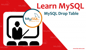 MySQL Drop Table