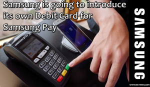 Samsung pay debit card
